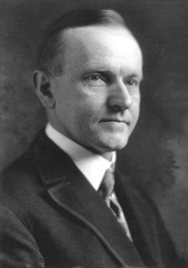 President Calvin Coolidge