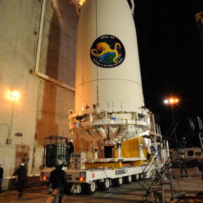 Illuminati NASA NAZI octopus satellite launch